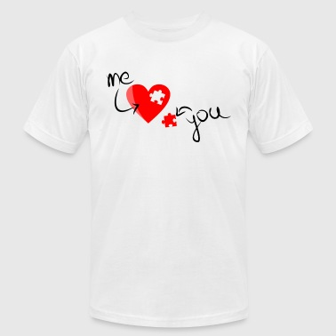 Piece of my Heart - Men's Fine Jersey T-Shirt