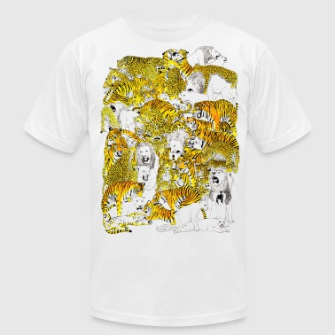 Orgie wild cat orgy - Men's Fine Jersey T-Shirt