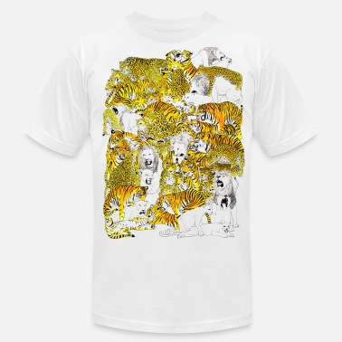 Orgy wild cat orgy - Men's  Jersey T-Shirt