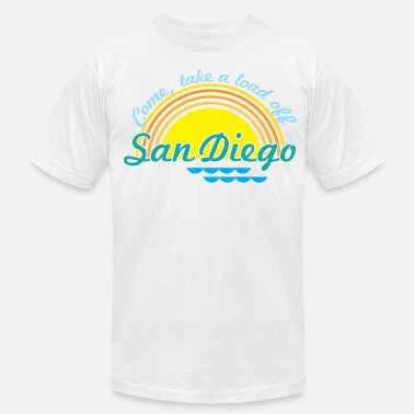 Butters Come, take a load off - San Diego - Men's  Jersey T-Shirt