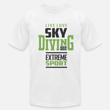 Extreme Sport Sky Diving Extreme Sport - Men's Jersey T-Shirt