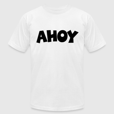 AHOY - Men's Fine Jersey T-Shirt