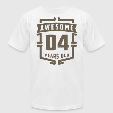 Years Of Awesome Awesome 04 Years Old - Men's Fine Jersey T-Shirt