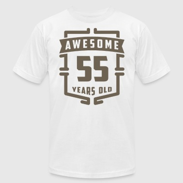 Awesome 55 Years Old - Men's Fine Jersey T-Shirt