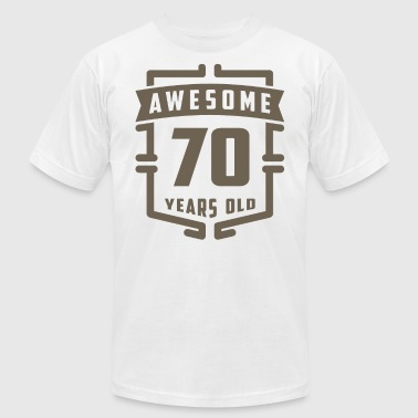 70 Years Old Awesome 70 Years Old - Men's Fine Jersey T-Shirt
