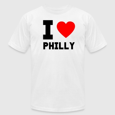I love Philly gift present city special offer - Men's Fine Jersey T-Shirt