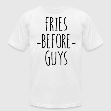 Keep Calm And Stay Swag Fries Before Guys Top Tumblr Hipster Swag Dope Tee - Men's Fine Jersey T-Shirt