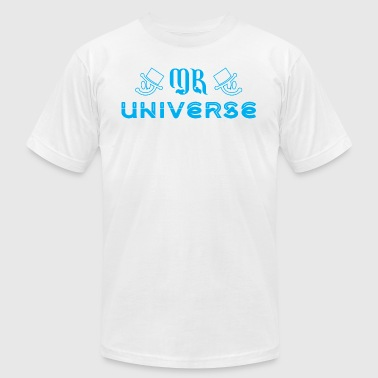 Mr University Mr Universe - Men's Fine Jersey T-Shirt