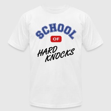 School of hard knocks - Men's Fine Jersey T-Shirt