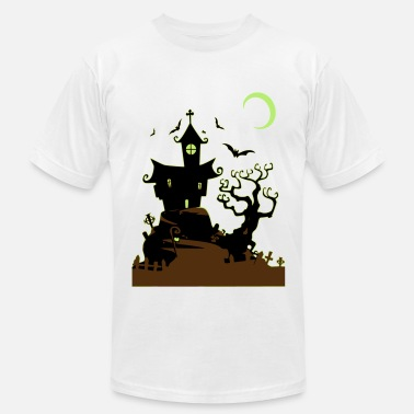 Haunted House Haunted House - Men's Fine Jersey T-Shirt