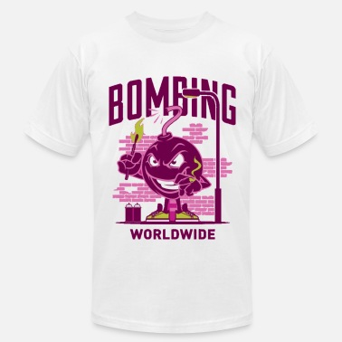 Guns Bomb bombing worldwide - Men's Fine Jersey T-Shirt
