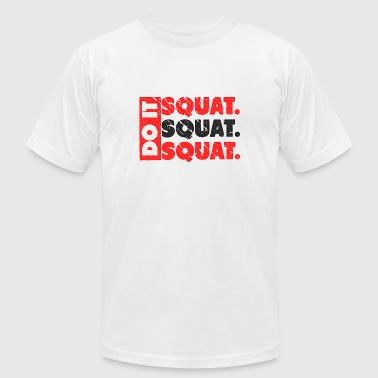 Do It. Squat.Squat.Squat | Vintage Look - Men's Fine Jersey T-Shirt