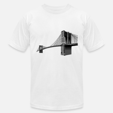 Brooklyn Bridge The Brooklyn Bridge - Men's Jersey T-Shirt