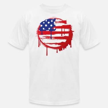 Grunge Effect Grunge Flag - Men's  Jersey T-Shirt