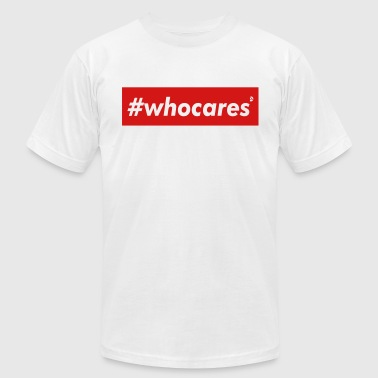 AD whocares - Men's Fine Jersey T-Shirt