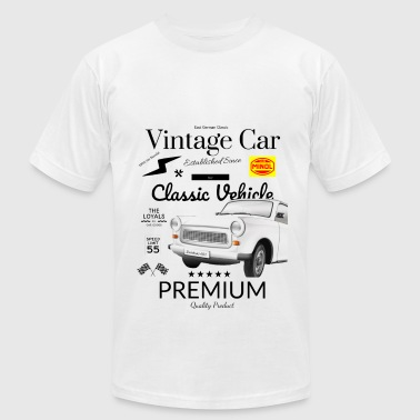 East German Car - Trabant Trabbi old car - Men's Fine Jersey T-Shirt