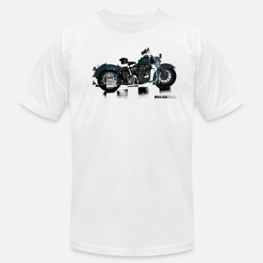 Gay Beef bulgebull_motorcycle - Men's  Jersey T-Shirt