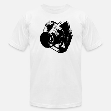 Camera from heaven - Men's  Jersey T-Shirt