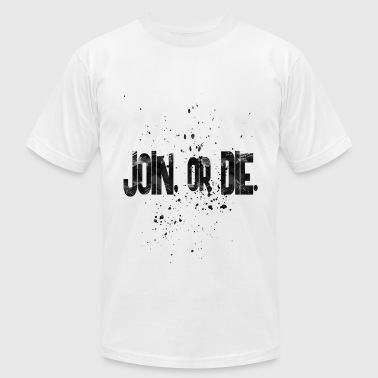 join or die - Men's Fine Jersey T-Shirt