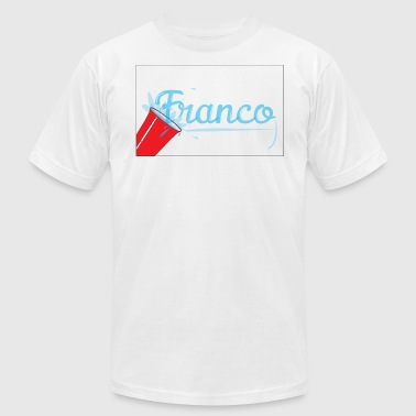 Franco Water Splash - Men's Fine Jersey T-Shirt