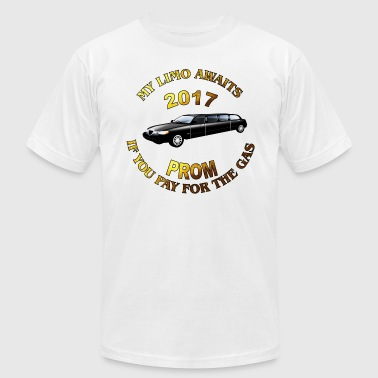 Class of 2017 Prom My Limo Awaits - Men's Fine Jersey T-Shirt