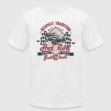 Hot Rod Vintage racers - Men's Fine Jersey T-Shirt