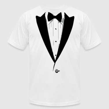 Custom Color Tuxedo Tshirt - Men's Fine Jersey T-Shirt