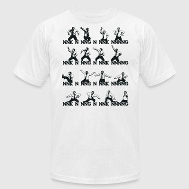 David Brent: The Office (UK) Dance - Men's Fine Jersey T-Shirt