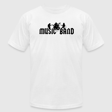 Music Band - Men's Fine Jersey T-Shirt