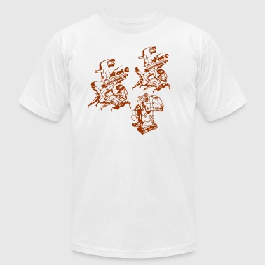 Robot Army of Me - Men's Fine Jersey T-Shirt