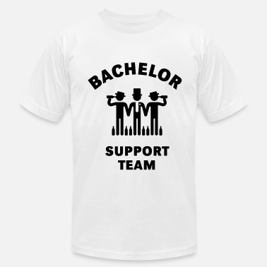 Stag Bachelor Support Team (Stag Party) - Men's Fine Jersey T-Shirt