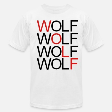 Repetition wolf_red - Men's  Jersey T-Shirt
