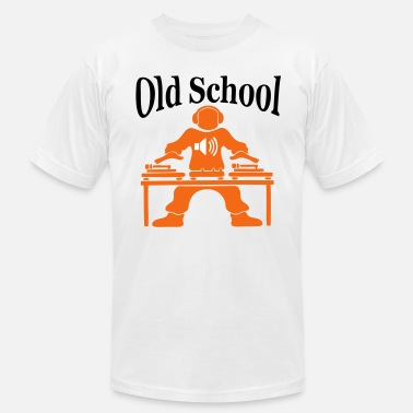 Freestyle Music old school shirt - Men's Fine Jersey T-Shirt