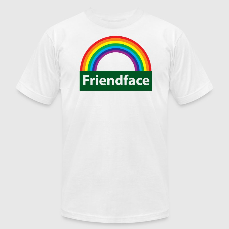 friend face - Men's Fine Jersey T-Shirt