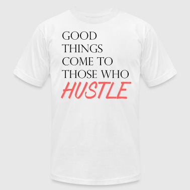 The Hustle - Men's Fine Jersey T-Shirt