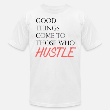 The Hustlers The Hustle - Men's  Jersey T-Shirt
