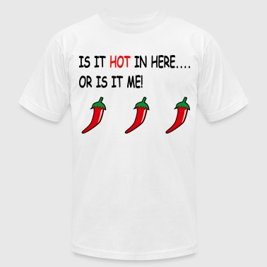Chilli Pepper chilli peppers - Men's Fine Jersey T-Shirt