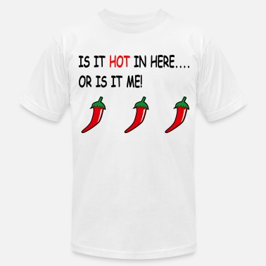 Chilli chilli peppers - Men's Jersey T-Shirt