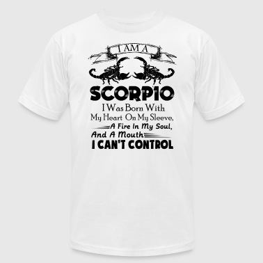 Scorpio Clothing Scorpio Shirt - I Am A Scorpio T Shirt - Men's Fine Jersey T-Shirt