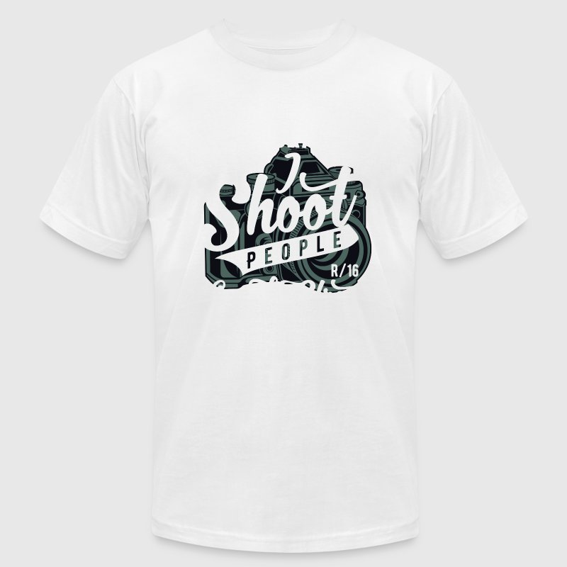 Street Photographer - I Shoot People On The Street - Men's Fine Jersey T-Shirt