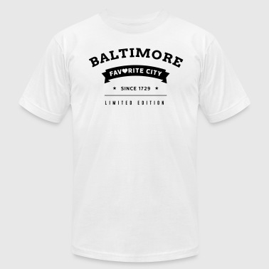 Baltimore City Favorite City Baltimore - Men's Fine Jersey T-Shirt