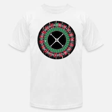 Roulette Roulette Wheel - Men's  Jersey T-Shirt