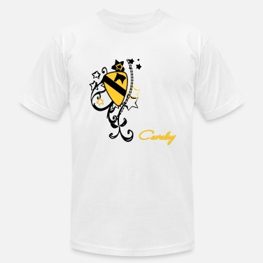 Cavalry patch yellow - Men's  Jersey T-Shirt