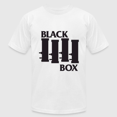 TF2 Black Box Band Women's White Shirt - Men's Fine Jersey T-Shirt