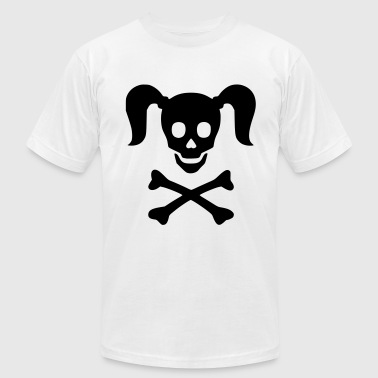 Girly Skulls Girly Skull - Men's Fine Jersey T-Shirt