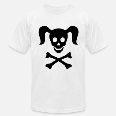 Girly Skulls Girly Skull - Men's  Jersey T-Shirt