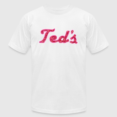 Classic Retro Vintage Ted's on Woodward Michigan - Men's Fine Jersey T-Shirt