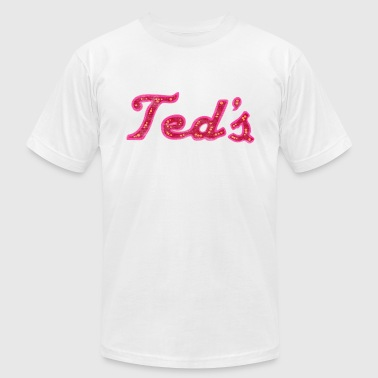 Throwback Classic Retro Vintage Ted's on Woodward Michigan - Men's Fine Jersey T-Shirt
