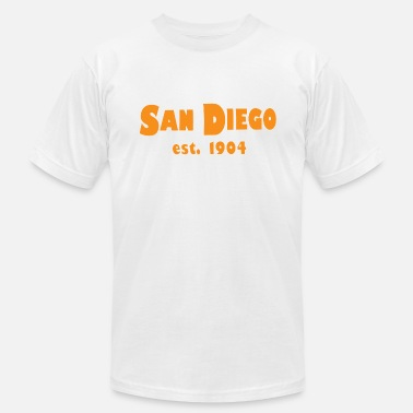 1904 San Diego California Est. 1904 - Men's  Jersey T-Shirt