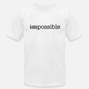 Impossible Impossible / Possible - Men's  Jersey T-Shirt